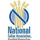 National Celiac Association Certified Gluten-Free