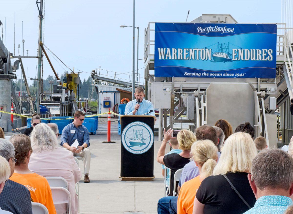 Frank Dulcich reopens Pacific Seafood Warrenton