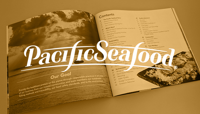 """Pacific Seafood Releases Fourth Annual Corporate Social Responsibility Report """"Proudly Pacific"""""""
