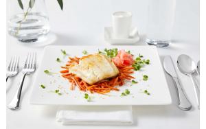 Sablefish (Black Cod), plated
