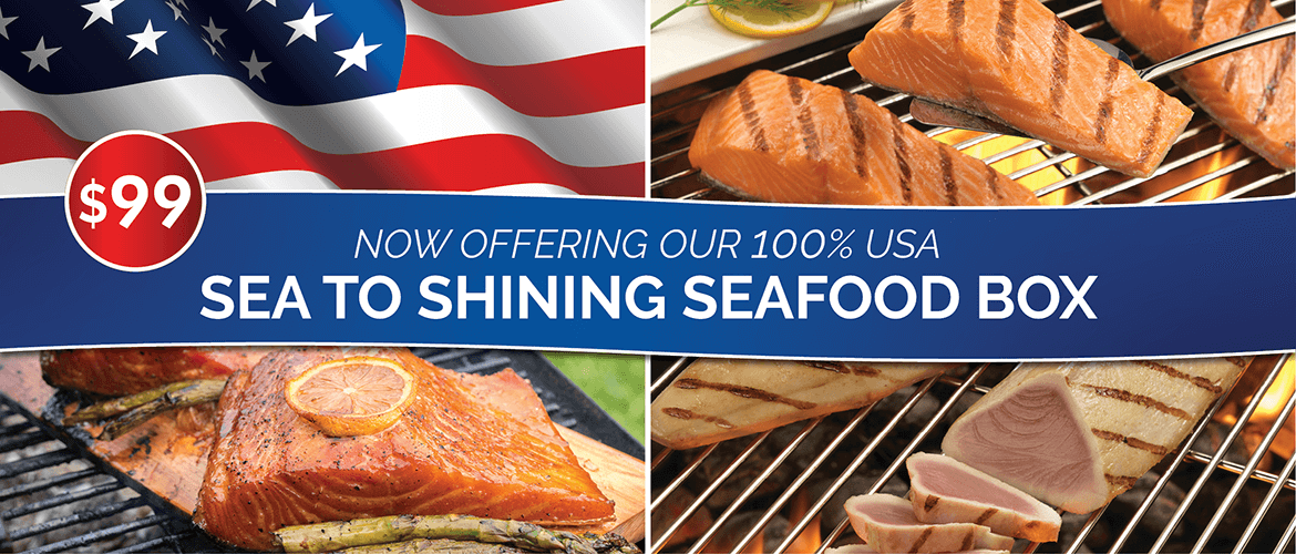 From sea to Shinning Seafood Box
